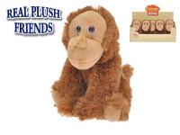 Orangutan plyšový 17 cm sediaci
