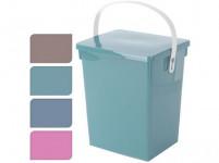 box s odklápacím vekom 5,5l, 23,5x18x26,5cm plastový - mix farieb