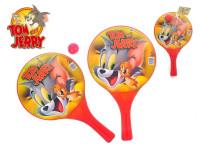 T & J plážové pálky Tom & Jerry 2 ks s loptičkou