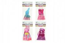 Oblečky/Šaty pro panenky 13cm - mix variant či barev