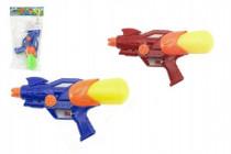 Vodné pištole plast 25cm - mix farieb