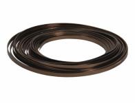 Drôt dekoračné hliníkový čokoládový 10m 5mm
