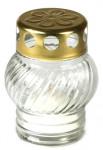 Sviečka sklo biela - guľa 30 g (230bz1535)