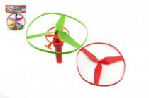 Vystreľovacie vrtuľky 3 ks + štartér plast