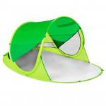 Spokey STRATUS Samorozkládací outdoorový paraván, UV 40, 195x100x85 cm - zelený - VÝPREDAJ