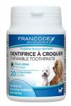 Francodex Žvýkací zubní pasta v tabletách 20tbl