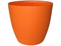 Obal Ella - matná oranžová 18 cm