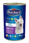Butcher 's Dog Life s jahňacím mäsom a ryžou konz. 1200g
