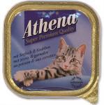Athena cat van. paštéta - morská ryba, krab 100 g
