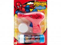 Bublifuková pištoľ Spider Man