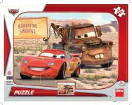 Puzzle 12 dielikov Tvary Cars: Blesk a Burák