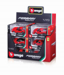 Bburago 1:43 Ferrari Race & Play - mix variantov či farieb