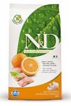 N & D Grain Free DOG Adult Mini Fish & Orange 800g