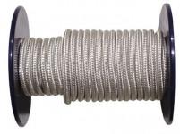 lano PA s dušou 10mm BI pletené (100m)