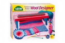 Štúdio pletenie: Pletacie stav plast + 50g vlny + ihly + koleso + franc.panenka