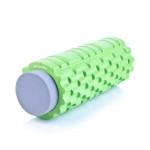 Spokey TEEL 2 v 1 fitness masážní + pěnový válec zelený