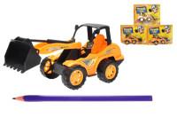 Stavební stroje na setrvačník 18 cm - mix variant či barev