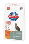 Hill 'Feline Dry Adult Young Sterilised Chicken3,5kg