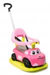 Odrážadlo Auto ružové elektronické