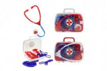 Sada doktor / lekár plast 2 farby v plastovom kufríkov