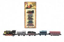 Sada lokomotíva a vagóniky 5ks kov 8cm - mix variantov či farieb