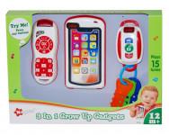 Moja prvá vybavenie 3v1, kľúče od auta, telefón a ovládač