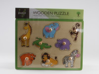 Drevené puzzle 8v1