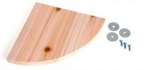 Poschodie do klietky drevo Karlie 22 x 22 x 1,8 cm
