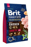 Brit Premium Dog by Nature Senior L + XL 3kg