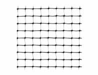 Sieť ochranná proti vtákom čierna 4x10 2,5x2,5cm