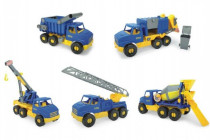Auto middle Truck plast 42-49cm Wader - mix variantov či farieb