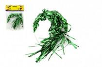 Čelenka s farebnými vlasmi plast 13cm karneval