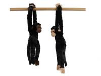 Opice plyšová 50 cm dlouhé ruce a nohy - mix barev