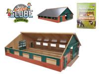 Farma drevená 73x60x26 cm 1:32