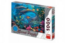 Puzzle Mořský svět 12 skrytých detailů 1000 dílků 66x47cm
