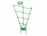 Mřížka na rostliny plast transparentní zelená 49x30x9cm 2ks
