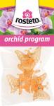 Klips Motýľ Rosteto - oranžový 4 ks