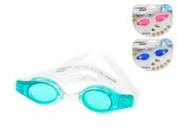 Plavecké okuliare polykarbonátové sklá - mix farieb