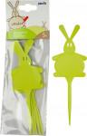Menovka - Zajac zelená - 5 ks