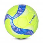 Spokey COSMIC Fotbalový míč ze 100% PU limetkovo-modrý vel. 5