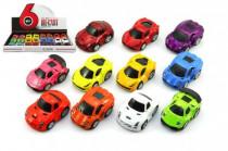 Auto kov 5cm na spätné natiahnutie - mix variantov či farieb