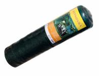 Stínovka PE 65% s oky zelená 1,5x15m