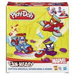 Play-Doh kelímky ve tvaru hrdinů marvel s vozidly - VÝPREDAJ