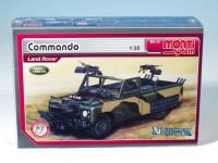 Stavebnica Monti 29 Commando Land Rover 1:35
