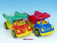 Auto sklápač plast 50cm - mix farieb