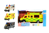 Auto záchranářské plast 18cm - mix variant či barev