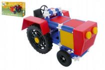 Stavebnice Seva Traktor plast