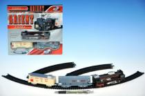 Orient Vlak + 2 vagóny délka dráhy 210cm na baterie se světlem