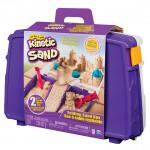 Kinetic sand cestovný kufrík s formičkami