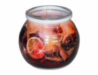 Sviečka v skle varené víno vonná 85g